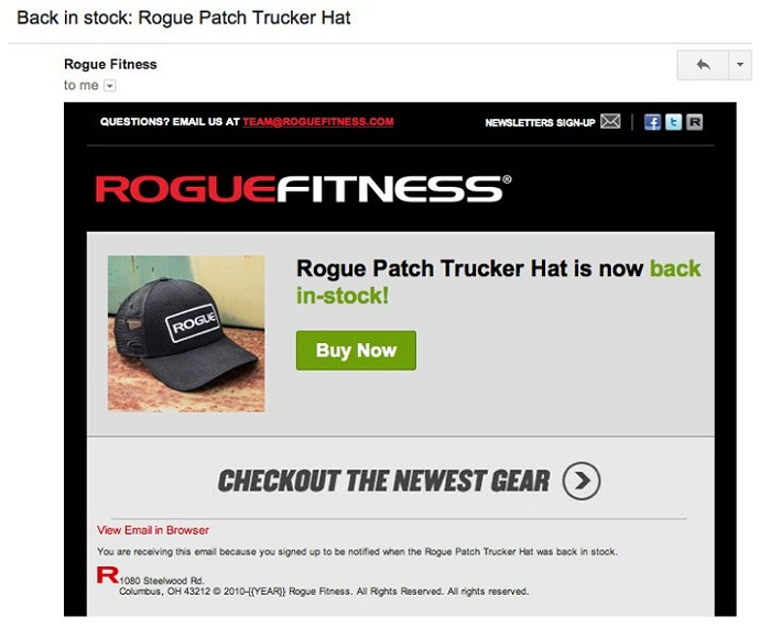 Back in stock: Rogue Patch Trucker Hat
