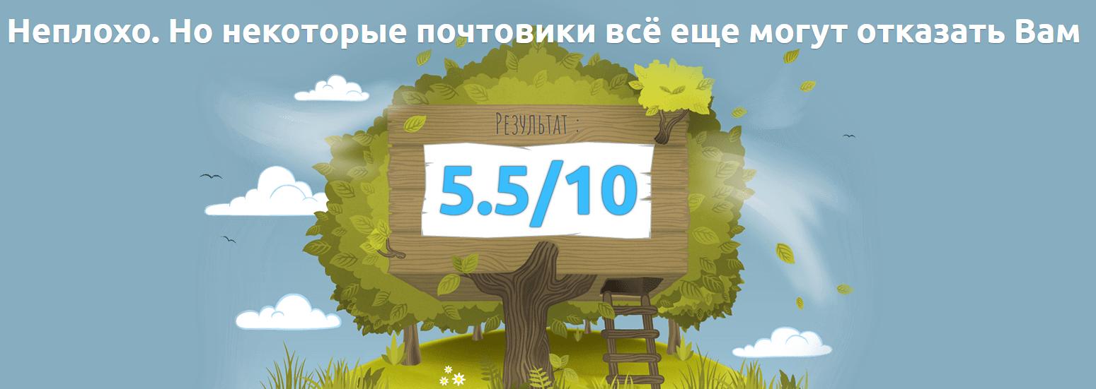 rezultat_proverki_pisma_na_spam_v_mail_tester