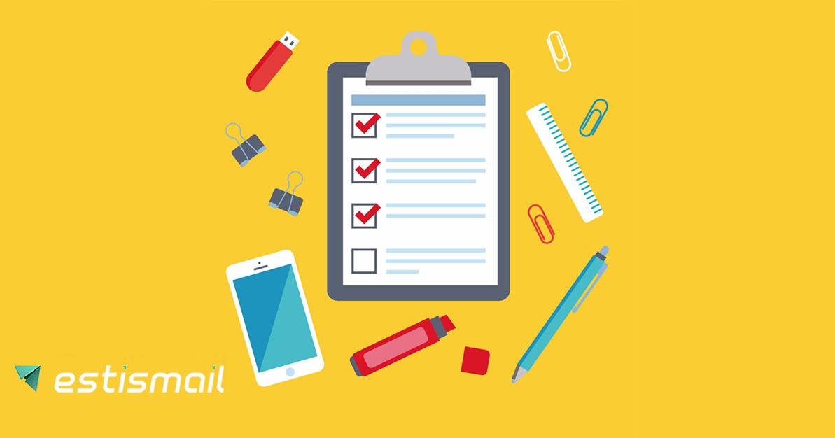 Как запустить лучшую кампанию рассылок:  чек-лист для новичков и не только | Estismail | Эстисмеил