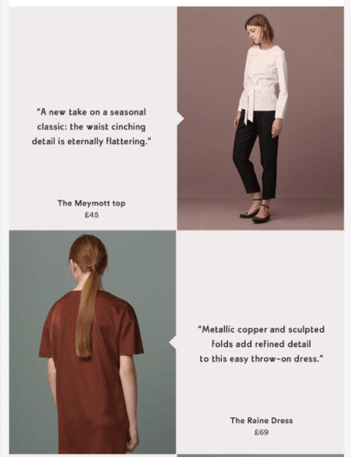 9 вечных трендов в дизайне email-маркетинга: макет в стиле z-верстка